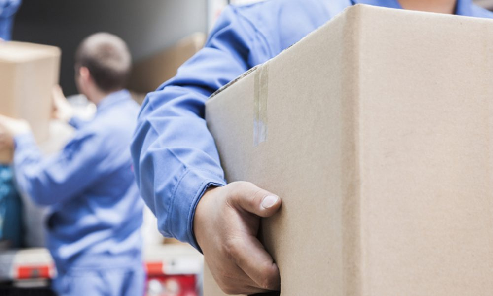Movers unloading moving van; Shutterstock ID 158330768; PO: today.com; Other: claudia